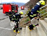 WWW16924COM公安消防、森林消防、公墓消防自救隊舉行聯合滅火救援演練4.jpg